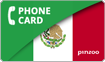 PINZOO Power Mexico Phone Cards & Calling Cards